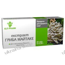 Wyciąg z Grzybów Maitake (Grifola Umbellate), 80 tab., Wzmacnia Odporność Mydła
