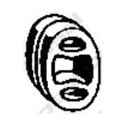 255-041 BSL 255-041 WIESZAK TLUMIKA OPEL CORSA B, TIGRA GUMOWY BOSAL CZESCI MONTAZOWE BOSAL [859410]...