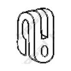 255-014 BSL 255-014 WIESZAK TLUMIKA CITROEN , PEUGEOT,RENAULT GUMOWY BOSAL CZESCI MONTAZOWE BOSAL [859501]...