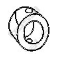 255-267 BSL 255-267 WIESZAK TLUMIKA CITROEN C15, PEUGEOT 104 305 GUMOWY BOSAL CZESCI MONTAZOWE BOSAL [865525]...