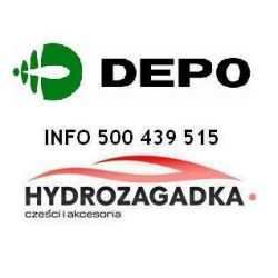 * DE 440-1124R-LD-E REFLEKTOR MERCEDES C W-203 00- H7+H7 REGULACJA ELEKTRYCZNA -03 PR SZT INNE ABAKUS OSWIETLENIE DEPO [885457]...