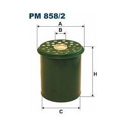 PM 858/2 F PM858/2 FILTR PALIWA RENAULT SAFRANE 2,1/2,5TD 95- SZT FILTRY FILTRON [858283]...