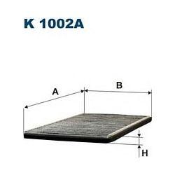 K 1002A F K1002A FILTR KABINOWY OPEL COMBO CORSA B 93-TIGRA Z AKT WEGLEM FILTRY FILTRON [860044]...
