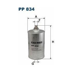 PP 834 F PP834 FILTR PALIWA MERCEDES E280-W124 E320-W124 SZT FILTRY FILTRON [873592]...