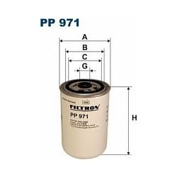 PP 971 F PP971 FILTR PALIWA RENAULT MAGNUM/MIDLUM/PREMIUM 11/01- SZT FILTRY FILTRON [877041]...