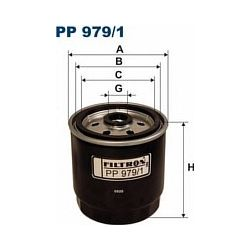 PP 979/1 F PP979/1 FILTR PALIWA HYUNDAI ACCENT II 02- ; SZT FILTRY FILTRON [898051]...