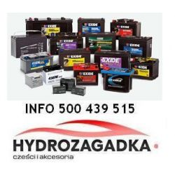 EC502 CEN EC502 AKUMULATOR EXIDE 50AH/510A EN+P CLASSIC 242X175X175 SZT EXIDE AKUMULATORY EXIDE [931846]...