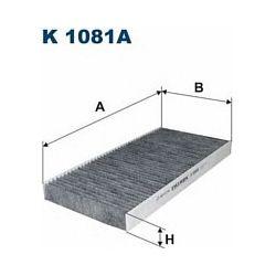 K 1081A F K1081A FILTR KABINOWY OPEL COMBO B, CORSA C, VECTRA C WSZYSTKIE FILTRY FILTRON [943299]...