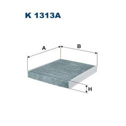 K 1313A F K1313A FILTR KABINOWY AUDI A1/SKODA FABIA/ROOMSTER/VW POLO 07- SZT FILTRON FILTRY (PG) FILTRON [1224182]...