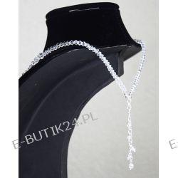 UNIVIA* Komplet biżuterii Ślubnej CRYSTAL AB Biżuteria ślubna