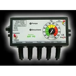 Regulator temperatury sterujący pracą dmuchawy i pompy obiegowej instalacji C.O. ART PD...