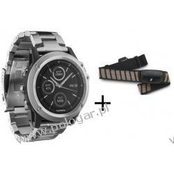 Garmin Fenix 3 Sapphire Titanium + czujnik tętna hrm run