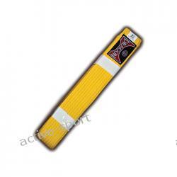 Pas do kimona żółty