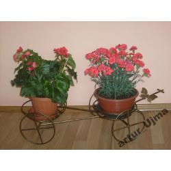 Kwietnik na 2 kwiatki, kwietniki, metaloplastyka!!
