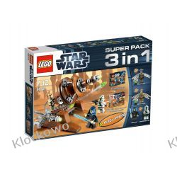 66431 Super Pack 3 w 1 (9491 + 9488 + 7914) KLOCKI LEGO STAR WARS