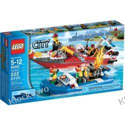 60005 ŁÓDŹ STRAŻY POŻARNEJ (Fire Boat) KLOCKI LEGO CITY