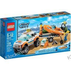 60012 WÓZ TERENOWY I ŁÓDŹ NURKÓW (4x4 & Diving Boat) KLOCKI LEGO CITY