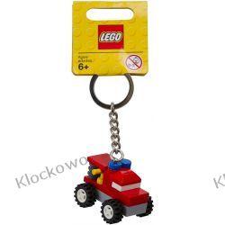 850952 BRELOK LEGO WÓZ STRAŻACKI (Classic Firetruck Bag Charm)  - LEGO GADŻETY Straż