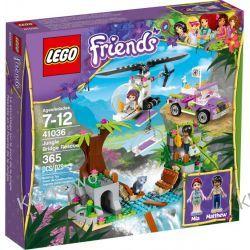 41036 RATUNEK NIEDŹWIADKA (Jungle Bridge Rescue) KLOCKI LEGO FRIENDS  Straż