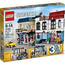 31026 MIASTECZKO (Bike Shop & Cafe) KLOCKI LEGO CREATOR