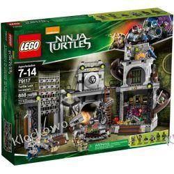 79117 INWAZJA NA KRYJÓWKĘ ŻÓŁWI (Turtle Lair Invasion) - KLOCKI LEGO TURTLES Straż