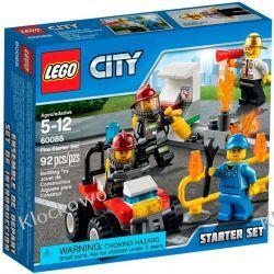 60088 STRAŻACY- ZESTAW STARTOWY (Fire Starter Set) KLOCKI LEGO CITY