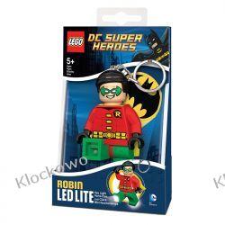 MINI LATARKA LED LEGO - ROBIN- BRELOK Straż