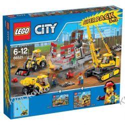 66521 ROZBIÓRKA - PACK (Demolition Super Pack) KLOCKI LEGO CITY