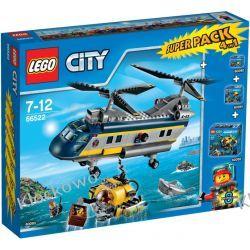 66522 PODWODNY ŚWIAT - PACK (Deep Sea Explorers Super Pack 4-in-1) KLOCKI LEGO CITY