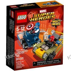 76065 KAPITAN AMERYKA KONTRA CZERWONA CZASZKA (Captain America vs. Red Skull) - KLOCKI LEGO SUPER HEROES