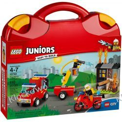 10740 - PATROL STRAŻACKI (Fire Patrol Suitcase) - KLOCKI LEGO JUNIORS