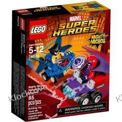 76073 VOLVERINE KONTRA MAGNETO (Mighty Micros: Wolverine vs. Magneto) - KLOCKI LEGO SUPER HEROES