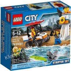 60163 STRAŻ PRZYBRZEŻNA - ZESTAW STARTOWY (Coast Guard Starter Set) KLOCKI LEGO CITY