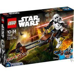 75532 ZWIADOWCA SZTURMOWCÓW I JEGO ŚMIGACZ (Scout Trooper & Speeder Bike) KLOCKI LEGO STAR WARS