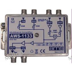 Wielowejściowy wzmacniacz antenowy AWS 1133S