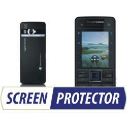 Profesjonalny zestaw folii ochronnych Screen Protector do telefonu Sony Ericsson C902