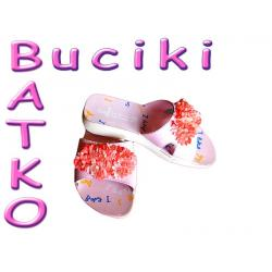 Buty Klapki Inblu różowe r.33  -50 % !! 4B