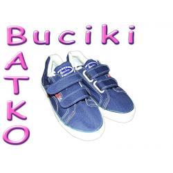 Buty tenisówki granatowe  r.32 -50 % ceny  51B