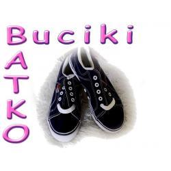 Buty tenisówki czarne r.32 -50 % ceny 83B