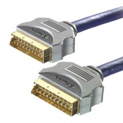 Kabel SCART Euro 24K OFC Full RGB Svideo Vivanco !