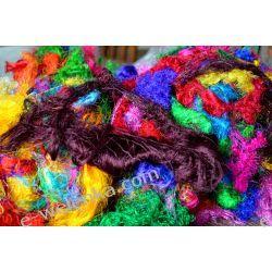 Sari Silk Waste Fiber Szycie i dziewiarstwo