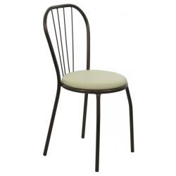 Krzesło MajerK-05 (SZAMPAŃSKA SATYNA)