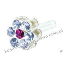 Kolczyk do przekłuwania uszu -12-0114-46 DAISY 5mm Alexandrite/ Rose