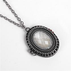 Wisiorek kryształ srebrny