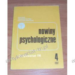 Nowiny Psychologiczne 4/1987 Chemia nieorganiczna
