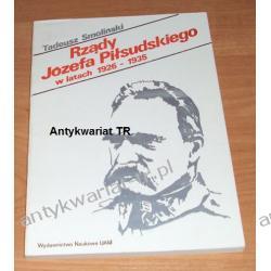 Rządy Józefa Piłsudskiego w latach 1926-1935, studium prawne, Tadeusz Smoliński Chemia nieorganiczna