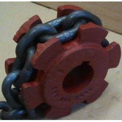 KOŁO GNIAZDOWE Rozrzutnik KRONE,Z=6,łańcucuch10x28 Części do maszyn rolniczych