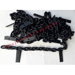TWARDY Łańcuch rozrzutnika WARFAMA 218 11x31 KL5 Maszyny rolnicze