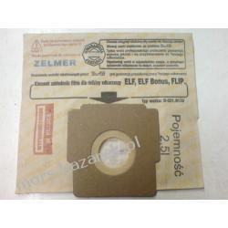 Komplet worków papierowych 3210170  ELF Zelmer /5 sztuk/