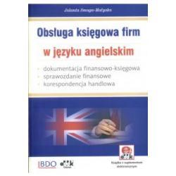 Obsługa księgowa firm w języku angielskim